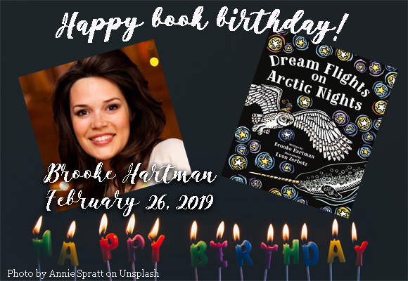 Happy book birthday! Brooke Hartman's book