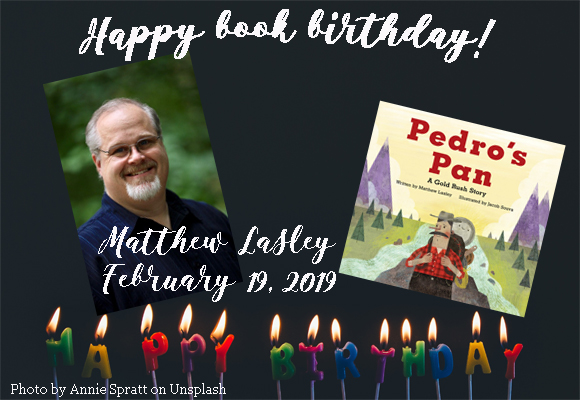 Happy book birthday! Matthew Lasley's book