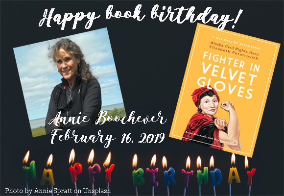 Happy book birthday! Annie Boochever's book