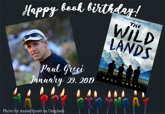 Happy book birthday! Paul Greci's book